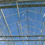 szyby dachowe, 3-panelowe wietrzniki, dwie kurtyny