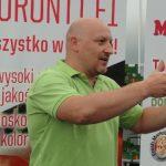 Tomasz Kosch z firma Grodan przedstawił zalety kostek rozsadowych Plantop Delta,