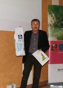 Henryk Wilczyński prezentował produkty firmy Yara