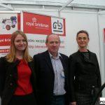 Marta Kasprzak, Bogumił Sagan i Joanna Czylok, Royal Brinkman