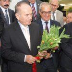 Kadir Topbas - burmistrz Stambulu i milosnik tulipanow