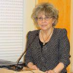 Dyrektor Instytutu Ogrodnictwa w Skierniewicach prof. dr hab. Małgorzata Korbin otwiera konferencję Nowe patogeny i choroby roślin