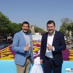 Alp Eren Yetgin_Korkut Yetgin_plac Sultanahmet_Stambul_dywan z tulipanow_Istanbul Tulip Festival 2016