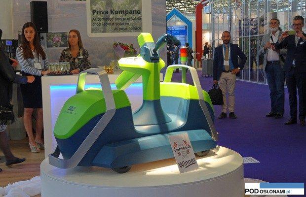 GreenTech Inovation Award przyznano robotowi Priva Kompano