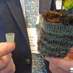 GrowCoon - biodegradowalne osłonki pozwalające formować koreczki lub zastępujące doniczki
