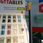 Podczas targów GreenTech Duży wybór nawozów ogrodniczych proponowała polska firma Arkop