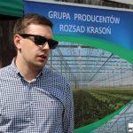 Marcin Krasoń opowiada o ofercie firmy Krasoń dla producentów sałaty