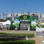 Wystawa środków produkcji obejmowała m.in. tunele foliowe (F.H.U. Farmer CO)