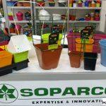 Bardzo duży wybór doniczek pokazała francuska firma Soparco