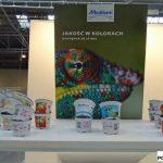 Bardzo bogaty asortyment doniczek różnych kolorach można było zobaczyć na stoisku firmy Modiform