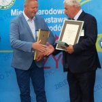 Artur Maj ze szkółki Daglezja i Bronislaw Szmit - przedstawiciele firm, które triumfowały podczas wręczania nagród w Konkursie Roślin NOWOŚCI Zielen to Zycie 2016