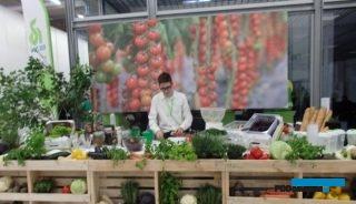 Odwiedzający targi mogli spróbować potraw z odmian warzyw firmy Rijk Zwaan