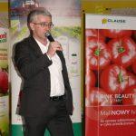 Marcin Portka z Grupy Mularski przybliżył proces produkcji rozsady w zakładzie Borach Malinowskich