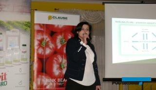 Agnieszka Ptaszek z firmy Nufarm omówiła bieżące zalecenia dotyczące ochrony warzyw i roślin jagodowych (AW)
