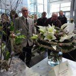 Jedna z nagrodzonych prac (z lewej) w Konkursie Kwiaciarń - Katarzyny Magdaleny Witeckiej z Rzeszowa_SpecialDays_Gardenia 2017