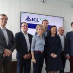 Zespół firmy ICL Polska obecny na spotkaniu (od lewej): T. Pisulewski, G. Ożarek, K. Bargieł, M. Gutkowski, B. Petykiewicz, M. Mynett, J. Szweykowski_konferencja-prasowa-14-marca-2017