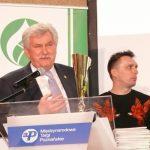 Andrzej Aumiller - prezes poznańskiego oddziału SITO przyznał w tym roku nagrodę dla wyróżniającej się kompozycji
