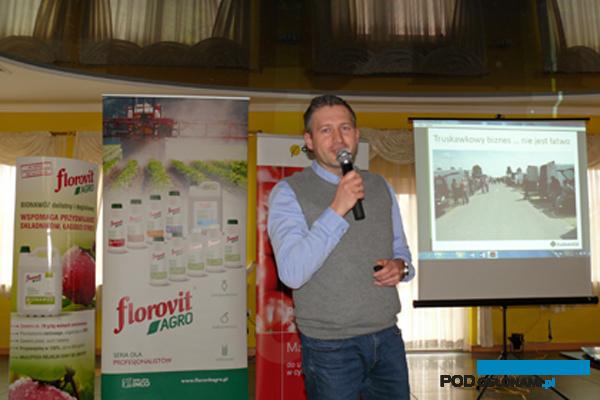 Artur Śliz z firmy Osadkowski S.A. przekazał informacje na temat działania Grupy Truskawkowej (AW)