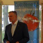 Gości konferencji przywitał Tomasz Badzian - odpowiedzialny w Saint-Gobain Cultilene za rynki centralnej i wschodniej Europy (AW)