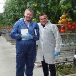 Evgeniy Serdega z firmy Saint-Gobain Cultilene oraz Marcin Mularski z Grupy Mularski (AW)