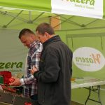 Firma Hazera pokazywała m.in. pomidory typu bawole serce, które cieszyły się zainteresowaniem zwiedzających