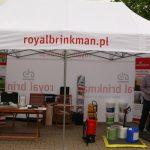Środki do produkcji i urządzenia, m.in. opryskiwacze, znajdowały się w ofercie firmy Royal-Brinkman