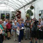 Pierwszy dzień przeznaczony był dla profesjonalistów - ogrodnicy i dziennikarze podczas otwarcia wystawy w Plantpolu