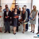 Przedstawiciele firm De SRuiter, Grodan, Yara i Koppert zaangażowani w zorganizowanie spotkania w Łaszkowie
