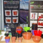 Kolorowa oferta doniczek z firmy MZ-Forma