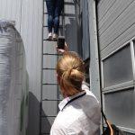 Nowy odcinek HortiWizji wymagał od naszej ekipy wejścia na dach budynku państwa Turskich