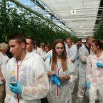 W spotkaniu w Całowaniu uczestniczyło wielu młodych ogrodników