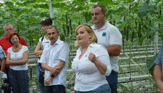 Charakterystykę odmian z firmy W. Legutko przedstawiła Katarzyna Kaczmarek