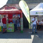 Na spotkaniu w miejscowości Dęba obecne były m.in. firmy Agrimpex (producent agrowłóknin) oraz AgroFim - dostawca m.in. instalacji nawadniających oraz komputerów nawożeniowych