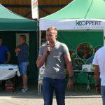 Tomasz Domański z firmy Koppert przedstawiał możliwości mikrobiologicznego zabezpieczenia roślin przed infekcjami odglebowymi.
