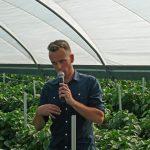 Charakterystykę odmian papryki i wiele cennych informacji uprawowych przedstawił Mariusz Kwiatkowski z firmy Syngenta