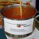 Na stoisku firmy Syngenta serwowano makaron z sosem z pomidorów Romanella F1