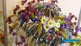 Florystyka była mocną stroną targów Flower Expo Polska (tu: fragment kompozycji Romana Steinhauera z Rosji), fot. A. Cecot
