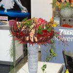 Jedna z kompozycji zwyciezczyni tegorocznych mistrzostw florystycznych Rosji, Anastazji Szecheriny_FlowersExpo-2017_Moskwa-fot.-A-Cecot