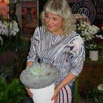 Sukulenty na stoisku hurtowni_Cwety ot Maczeljuka_FlowersExpo Moskwa 2017