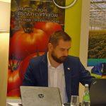 Ciekawą prezentację na temat historii uprawy pomidorów przedstawił Paweł Kloc z firmy Koppert