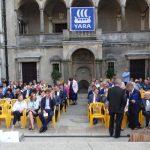 Uroczysta gala konkursu Wzorowy Ogrodnik odbyła się na dziedzińcu Zamku Czartoryskich w Gołuchowie