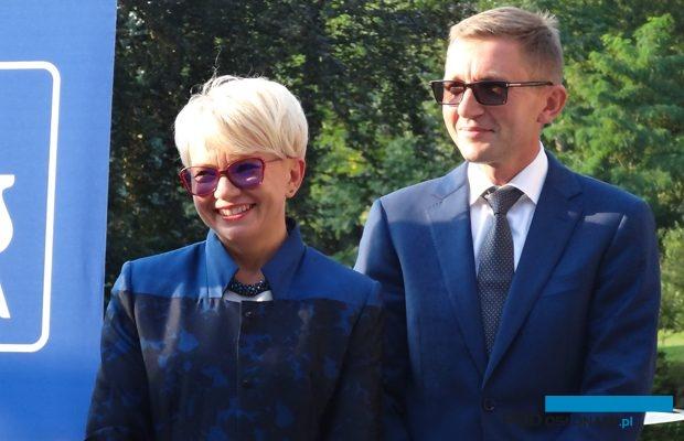 Małgorzata i Marcin Głowaccy z Warszówka