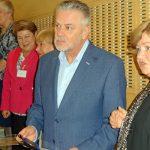 W gronie osób odznaczonych medalami PTNO znaleźli się także przedstawiciele firm działających w branży ogrodniczej - tu: Tomasz Badzian, dyrektor firmy Cultilene w Europie centralnej i wschodniej