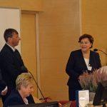 Życzenia z okazji jubileuszu PTNO składa prof. dr hab Zenia Michałojć z Uniwersytetu Przyrodniczego w Lublinie