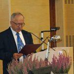 W gronie osób składających życzenia z okazji 30 lecia PTNO był m.in. dr hab Józef Piróg, prof, nadzw., reprezentujący Uniwersytet Przyrodniczy w Poznaniu