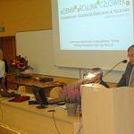 """Gościem specjalnym konferencji był prof. dr hab. Tadeusz Gadacz, którego wykład """"Pochwała mądrości"""" spotkał się z bardzo dużym zainteresowaniem słuchaczy"""