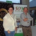 W konferencji uczestniczyli licznie producenci pomidorów z okolic Kalisza - m.in. Anna i Krzysztof Chenczke