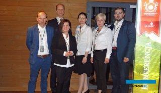 Głównym organizatorem konferencji była marka De Ruiter, reprezentowali ją, od lewej: Franky van Looveren, Wilko Kamerling, Marta Repelewicz-Szybkowska, Katarzyna Tykarska-Duchovska, Anna Wojciechowska i Mateusz Pluta