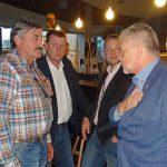 Dyskusje w przerwie - od lewej: Zdzisław Dziubek (Ogrodnictwo Dziubek), Petr Slavik (Saint-Gobain Cultilene), Jacek Pańczak (Sativex) oraz Tomasz Badzian ( Saint-Gobain Cultilene)
