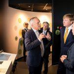 Wizyta króla Holandii Wilhelma Aleksandra w centrum informacyjnym firmy Koppert (fot. Koppert)